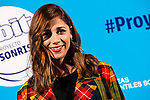 "Mariam Hernandez attends to the presentation of the ""Proyecto Sonrisas"" at Gran Teatro Principe Pio in Madrid. March 23, 2017. (ALTERPHOTOS/Borja B.Hojas)"