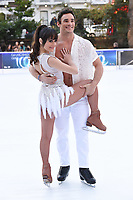 "Max Evans and Ale Izquierdo<br /> at the ""Dancing on Ice"" launch photocall, natural History Museum, London<br /> <br /> <br /> ©Ash Knotek  D3365  19/12/2017"