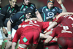 Stewart Maguire.RaboDirect Pro12.Scarlets v Connacht.02.03.12.©STEVE POPE
