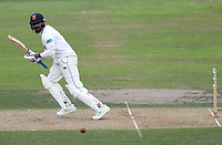 Mural Vijay of Essex in batting action during Nottinghamshire CCC vs Essex CCC, Specsavers County Championship Division 1 Cricket at Trent Bridge on 10th September 2018