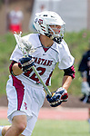 Torrance, CA 05/11/13 - Josh Davis (St Margarets #12) in action during the Harvard Westlake vs St Margarets 2013 Los Angeles / Orange County Championship game.  St Margaret defeated Harvard Westlake 15-8.