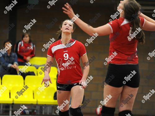 2011-10-23 / Volleybal / seizoen 2011-2012 / VC Zoersel / Karolien Vleugels..Foto: Mpics