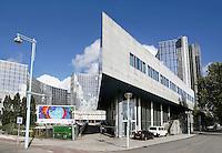 Nederland  Amsterdam Sloterdijk.   Amsterdam krijgt een nieuw casino. Het casino wordt onderdeel van het amusementscomplex VEN Amsterdam. Het wordt een middelgroot casino, waarin zowel gokautomaten als tafelspelen zullen worden aangeboden. In het voormalige KPN kantoor worden ook een hotel en een conferentiecentrum gevestigd.<br />  Foto Berlinda van Dam / Hollandse Hoogte