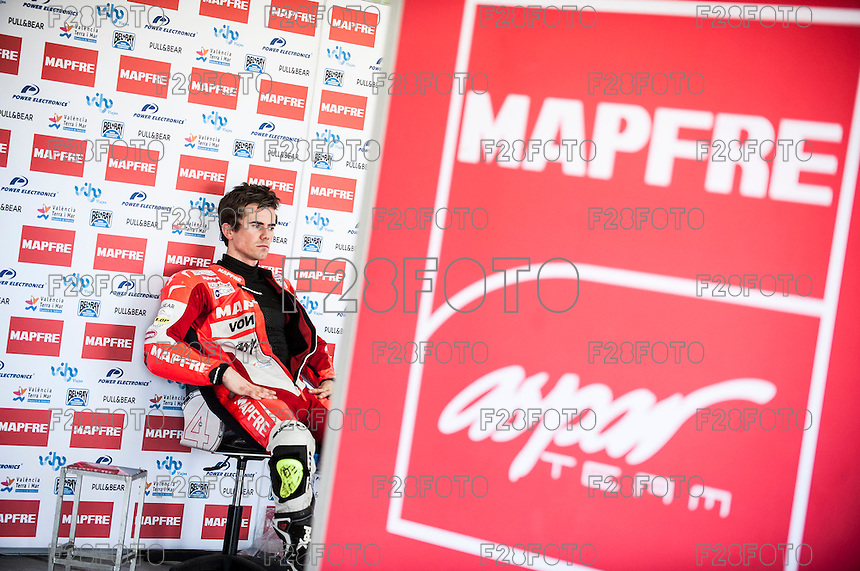 Nico Terol in Mapfre Aspar Team, pre season winter test IRTA Moto3 & Moto2 at Ricardo Tormo circuit in Valencia (Spain), 11-12-13 February 2014