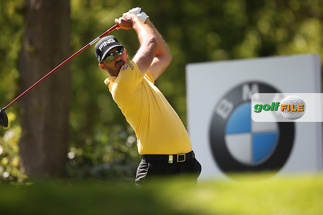 Gregory HAVRET (FRA) during Round One of the 2015 BMW PGA Championship over the West Course at Wentworth, Virginia Water, London. 21/05/2015Picture David Lloyd, www.golffile.ie.