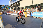 Thomas De Gendt (BEL) Lotto-Soudal during Stage 1 of the La Vuelta 2018, an individual time trial of 8km running around Malaga city centre, Spain. 25th August 2018.<br /> Picture: Ann Clarke | Cyclefile<br /> <br /> <br /> All photos usage must carry mandatory copyright credit (&copy; Cyclefile | Ann Clarke)