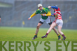 Shane Nolan Kerry Hurlers v Shane Kearney Cork Institute Technology in the Waterford Crystal Cup at Austin Stack Park, Tralee on Saturday 15th January.