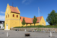 Kirche von Allinge auf der Insel Bornholm, D&auml;nemark, Europa<br /> Church of Allinge, Isle of Bornholm, Denmark
