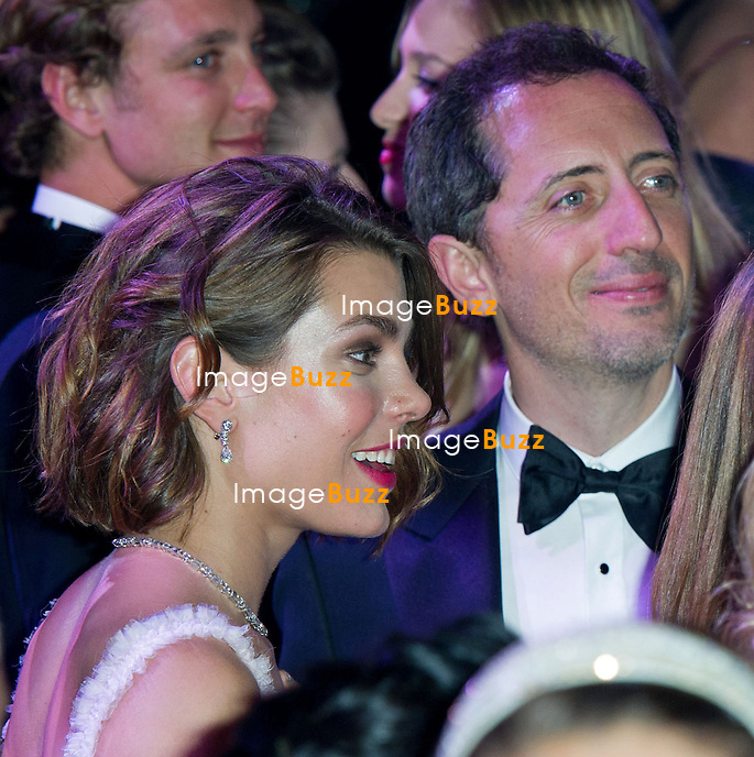 Monaco - /March 23, 2013-Charlotte Casiraghi and boyfriend French actor Gad Elmaleh attend the 'Bal de la Rose du Rocher' on the 150th anniversary of SBM at the Sporting Monte-Carlo