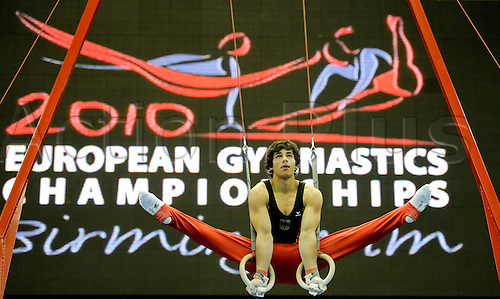 22.4.10 European Gymnastics Championships.Birmingham England.Junior Qualifications.Germany compete in the sub-division 2..