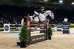 Jérôme Guery of Belgium riding Garfield de Fiji des Templiers competes in the Longines Grand Prix during the Longines Masters of Hong Kong at AsiaWorld-Expo on 11 February 2018, in Hong Kong, Hong Kong. Photo by Diego Gonzalez / Power Sport Images