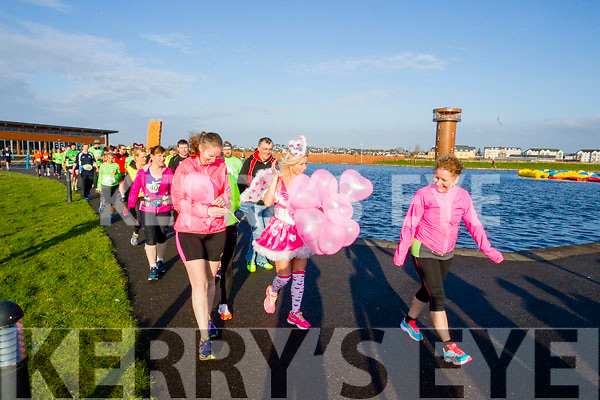 Pictured at the start of the of the Kerry's Eye Valentines Weekend 10 mile road race on Sunday.