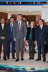 Prince Felipe of Spain and Princess Letizia of Spain during the opening visit of  'Fitur' International Tourism Fair opening at Ifema in Madrid, Spain. January 22, 2014. (ALTERPHOTOS/Victor Blanco)
