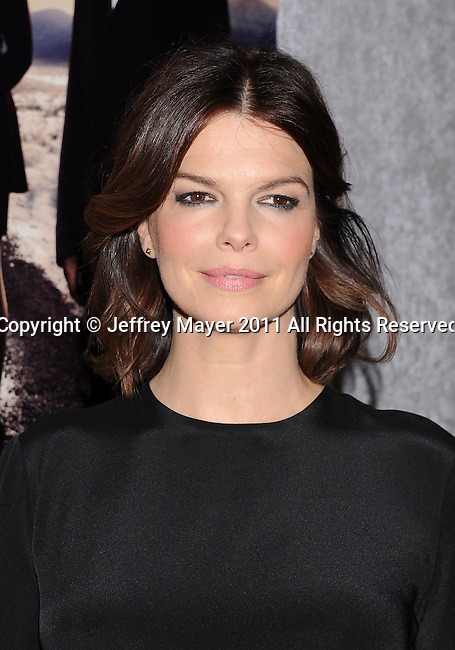 "LOS ANGELES, CA - January 12: Jeanne Tripplehorn attends HBO's ""Big Love"" Season 5 party at the Directors Guild Of America on January 12, 2011 in Los Angeles, California."