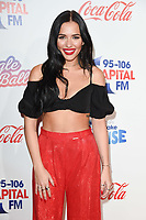 LONDON, UK. December 08, 2018: Lennon Stella at Capital's Jingle Bell Ball 2018 with Coca-Cola, O2 Arena, London.<br /> Picture: Steve Vas/Featureflash