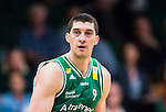 S&ouml;dert&auml;lje 2015-10-01 Basket Basketligan S&ouml;dert&auml;lje Kings - Uppsala Basket :  <br /> S&ouml;dert&auml;lje Kings Toni Bizaca under matchen mellan S&ouml;dert&auml;lje Kings och Uppsala Basket <br /> (Foto: Kenta J&ouml;nsson) Nyckelord:  Basket Basketligan S&ouml;dert&auml;lje Kings SBBK T&auml;ljehallen Uppsala Seriepremi&auml;r Premi&auml;r portr&auml;tt portrait