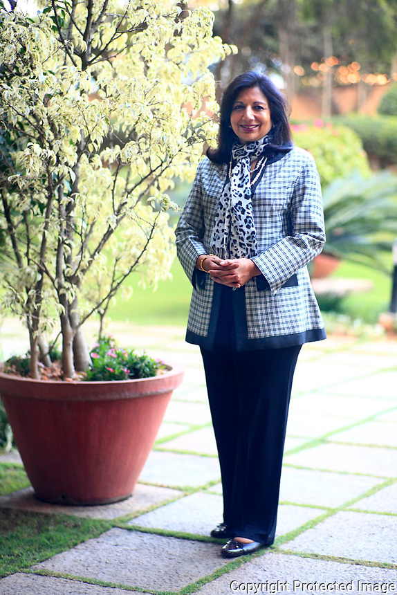 Kiran Muzumdar Shaw: Founder Director Biocon