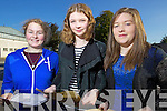 Students from Presentation Secondary School, Tralee who received their Junior Certificate results on Wednesday morning were l-r: Caitriona Horgan Blennerville Zoe O'Connor Ballyfinnane Ciara O'Donoghue Farmers Bridge