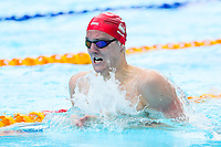 Picture by Alex Whitehead/SWpix.com - 05/04/2018 - Commonwealth Games - Swimming - Optus Aquatics Centre, Gold Coast, Australia - Andrew Willis of England competes in the Men's 200m Breaststroke heats.