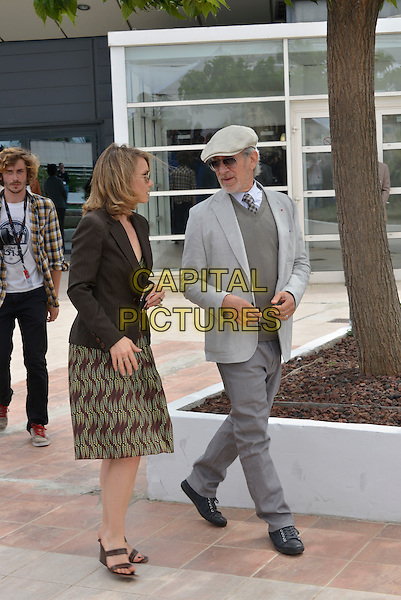 Steven Spielberg.Members of The Jury photocall - 66th International Cannes Film Festival, France 15th May 2013.full length gray grey suit hat sunglasses shades.CAP/PL.©Phil Loftus/Capital Pictures.