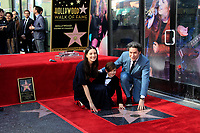 LOS ANGELES - JAN 22:  Maria Valverde, Martin Dudamel Maturen, Gustavo Dudamel at the Gustavo Dudamel Star Ceremony on the Hollywood Walk of Fame on January 22, 2019 in Los Angeles, CA