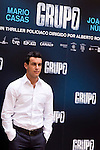 "Presentation at the Intercontinental Hotel in Madrid of the film ""Group 7"" with the presence of the actors Mario Casas, Antonio de la Torre, Inma Cuesta, Jose Manuel Poga, Joaquin Nunez, director Alberto Rodriguez, and producer Jose Antonio Fellez. In the picture: Mario Casas..(Alterphotos/Marta Gonzalez)"