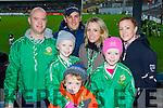 #COYBIG: Ted Healy, Sean Walsh, Martha Healy-Walsh, Dympna Walsh, Amy, Cillian and Laura Healy at the AIB Munster club SFC clash in Pairc Uí Rinn on Sunday