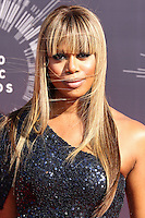 LOS ANGELES, CA, USA - AUGUST 24: Laverne Cox at the 2014 MTV Video Music Awards held at The Forum on August 24, 2014 in the Los Angeles, California, United States. (Photo by Xavier Collin/Celebrity Monitor)
