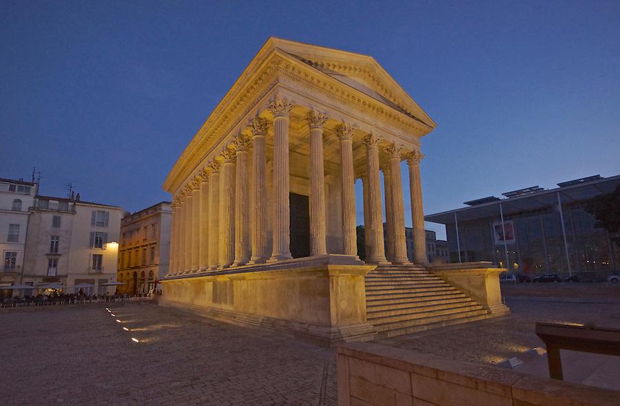 Roman Temple, Maison Carree, Nimes, France