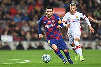 Lionel Messi, Salva Sevilla<br /> 07/12/2019 <br /> Barcelona - Maiorca<br /> Calcio La Liga 2019/2020 <br /> Photo Paco Largo Panoramic/insidefoto <br /> ITALY ONLY