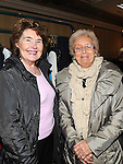 Teresa Halpin and Marie Dunne pictured at the Rail Sale in the Westcourt hotel in aid of the Chernobyl Childrens fund. Photo: Colin Bell/pressphotos.ie