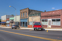 The small town of Luther Oklahoma on Route 66.