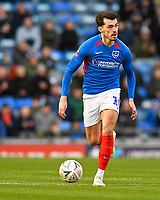 John Marquis of Portsmouth during Portsmouth vs Altrincham, Emirates FA Cup Football at Fratton Park on 30th November 2019