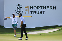 Max Homer (USA) in action during the third round of the Northern Trust played at Liberty National Golf Club, Jersey City, USA. 10/08/2019<br /> Picture: Golffile | Phil INGLIS<br /> <br /> All photo usage must carry mandatory copyright credit (© Golffile | Phil Inglis)