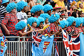 2nd February 2019, Spotless Stadium, Sydney, Australia; HSBC Sydney Rugby Sevens; Fiji fans supportng their team