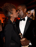 BEVERLY HILLS - JANUARY 7: L-R: Ryan Michelle Bathe and Sterling K. Brown attend the 2018 Fox Nominee Party for the 75th Annual Golden Globe Awards at the Fox Terrace on the Roof Deck of the Beverly Hilton on January 7, 2018, in Beverly Hills, California. (Photo by Frank Micelotta/Fox/PictureGroup)