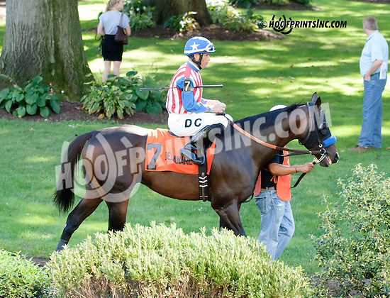 Smash before The Damitrius Stakes at Delaware Park on 9/4/13