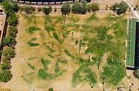 Vista aerea de Complejo deportivo de la Comisión Estatal de Deporte, CODESON en Hermosillo, Sonora....<br /> <br /> Campo De Tiro Con Arco. Sequía. Pasto. Pasto seco. Césped Verde.<br /> <br /> <br /> Photo: (NortePhoto / LuisGutierrez)<br /> <br /> ...<br /> keywords: