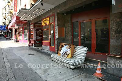 Genève, le 17.09.2008.rue des alpes.© Le Courrier / J.-P. Di Silvestro