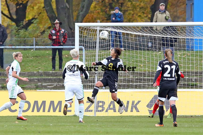 Kopfball Kozue Ando (FFC) - 1. FFC Frankfurt vs. VfL Wolfsburg, DFB-Pokal