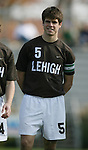 Lehigh's Michael Hessemer on Sunday, November 19th, 2006 at Koskinen Stadium in Durham, North Carolina. The Duke Blue Devils defeated the Lehigh University Mountain Hawks 3-0 in an NCAA Division I Men's Soccer Championship third round game.