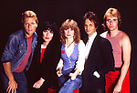 Heart 1982 Mark Andes Ann Wilson Nancy Wilson Danny Carmassi Howard Leese<br /> &copy; Chris Walter