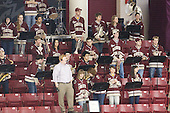 - The Boston College Eagles defeated the visiting Northeastern University Huskies 2-1 on Sunday, January 30, 2011, at Conte Forum in Chestnut Hill, Massachusetts.
