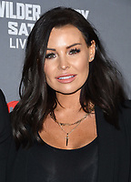 01 December 2018 - Los Angeles, California - Jessica Wright. Heavyweight Championship Of The World 'Wilder vs. Fury' held at The Staples Center. <br /> CAP/ADM/BT<br /> &copy;BT/ADM/Capital Pictures
