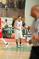 April 9, 2011 - Hampton, VA. USA;  Kenny Kaminski coaches during the 2011 Elite Youth Basketball League at the Boo Williams Sports Complex. Photo/Andrew Shurtleff