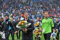 VOETBAL: HEERENVEEN: ABE LENSTRA STADION: 19-10-2013, SC Heerenveen - FC Utrecht, uitslag 4-1, afscheid keeper Brian Vandenbussche, ©foto Martin de Jong