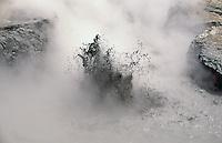 Indonesia, Java island:Gua Jimat crater, Dieng Plateau at Death Valley -<br /> Indonesia; Giava:cratere di Gua Jimat,valle della morte presso Dieng Plateau