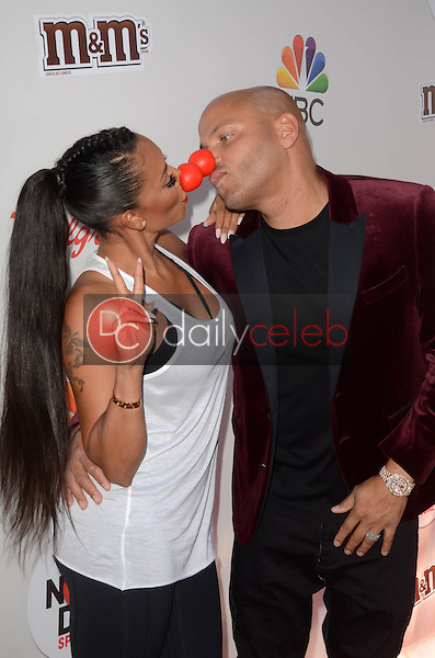 Mel B, Stephen Belafonte<br /> at the Red Nose Day 2016 Special, Universal Studios, Universal City, CA 05-26-16<br /> David Edwards/DailyCeleb.Com 818-249-4998
