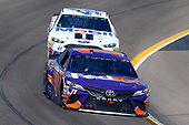 Monster Energy NASCAR Cup Series<br /> TicketGuardian 500<br /> ISM Raceway, Phoenix, AZ USA<br /> Sunday 11 March 2018<br /> Denny Hamlin, Joe Gibbs Racing, Toyota Camry FedEx Freight and Kurt Busch, Stewart-Haas Racing, Ford Fusion Mobil 1/Haas Automation<br /> World Copyright: Russell LaBounty<br /> NKP / LAT Images