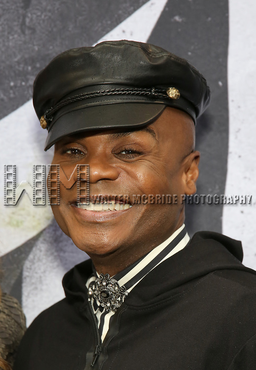 "Nathan Lee Graham attends the Broadway Opening Night Performance for ""Beetlejuice"" at The Wintergarden on April 25, 2019  in New York City."